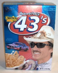 Collectible Richard Petty Cheerios