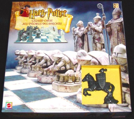 harry potter wizards chess set mattel sold out