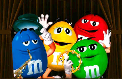 M & M Candy Dispensers