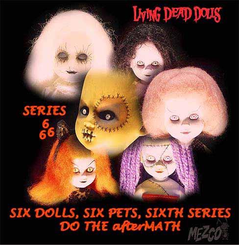 living dead dolls. Living Dead Dolls Series 666