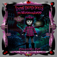 Living Dead Dolls Orange Cheshire Cat