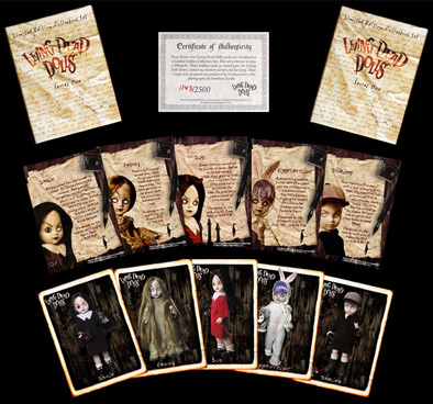 Living Dead Dolls Trading Cards