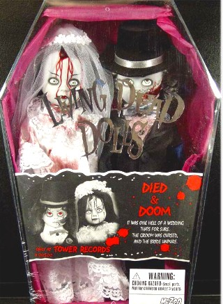Living Dead Dolls Exclusive Died & Doom