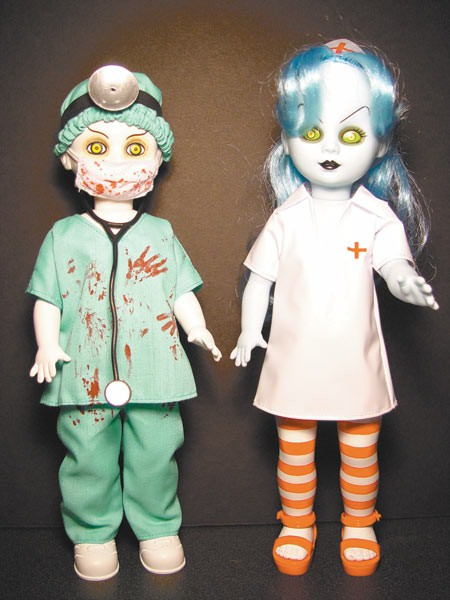 Living Dead Dolls Exclusive Dr. Deadwin & Nurse Necro