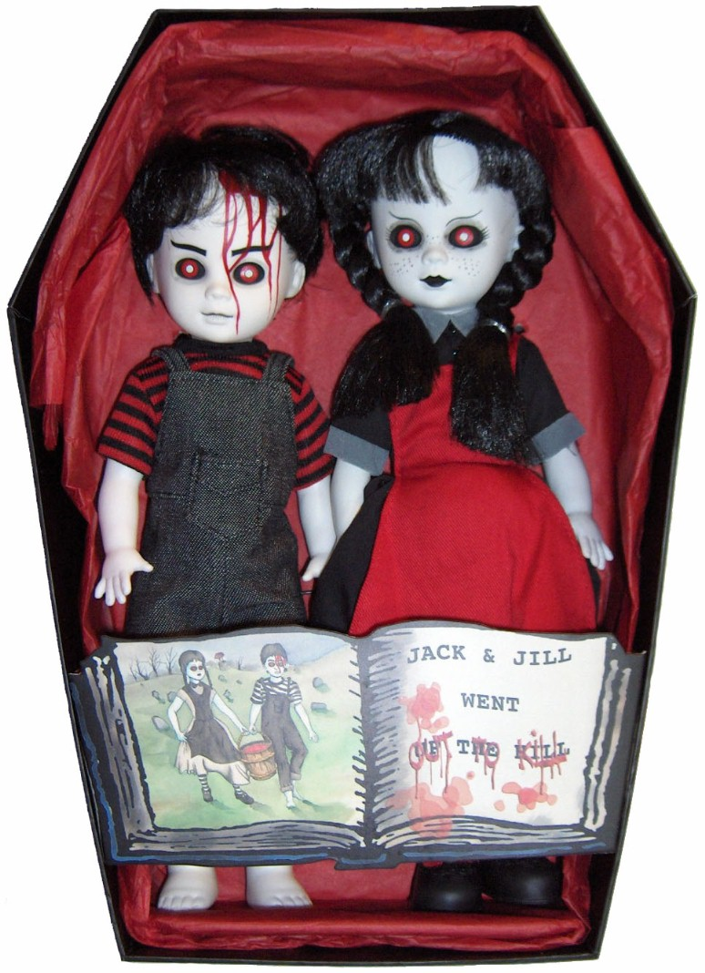 Living Dead Dolls Club Mez Exclusive Jack & Jill