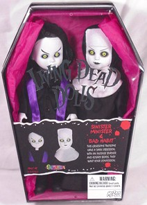 Living Dead Dolls Exclusive Black Sinister Minister