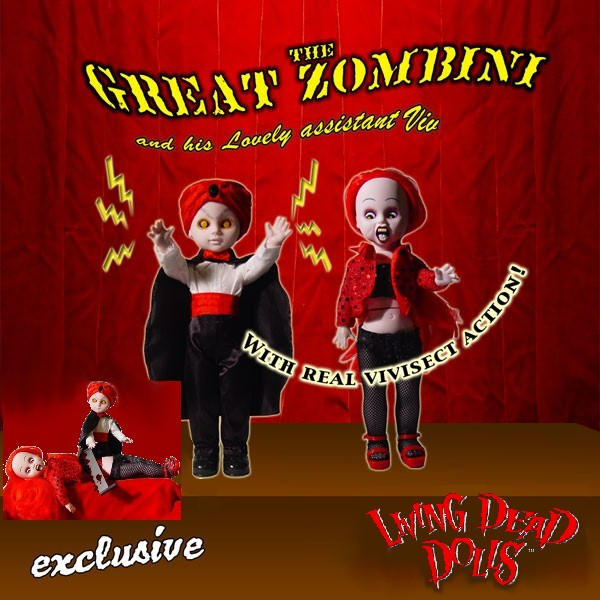 Living Dead Dolls Exclusive The Great Zombini