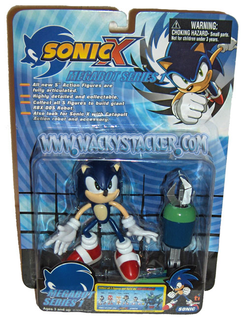 Sonic X The Hedgehog Lil Toy Shop Of Horror Laughs Collectible Sonic X Hedgehog Action Figures Toys At Wackystacker Com