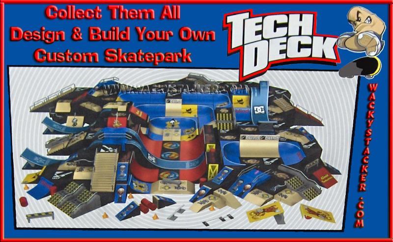 Tech Deck Skateparks 96mm Fingerboards Handboards